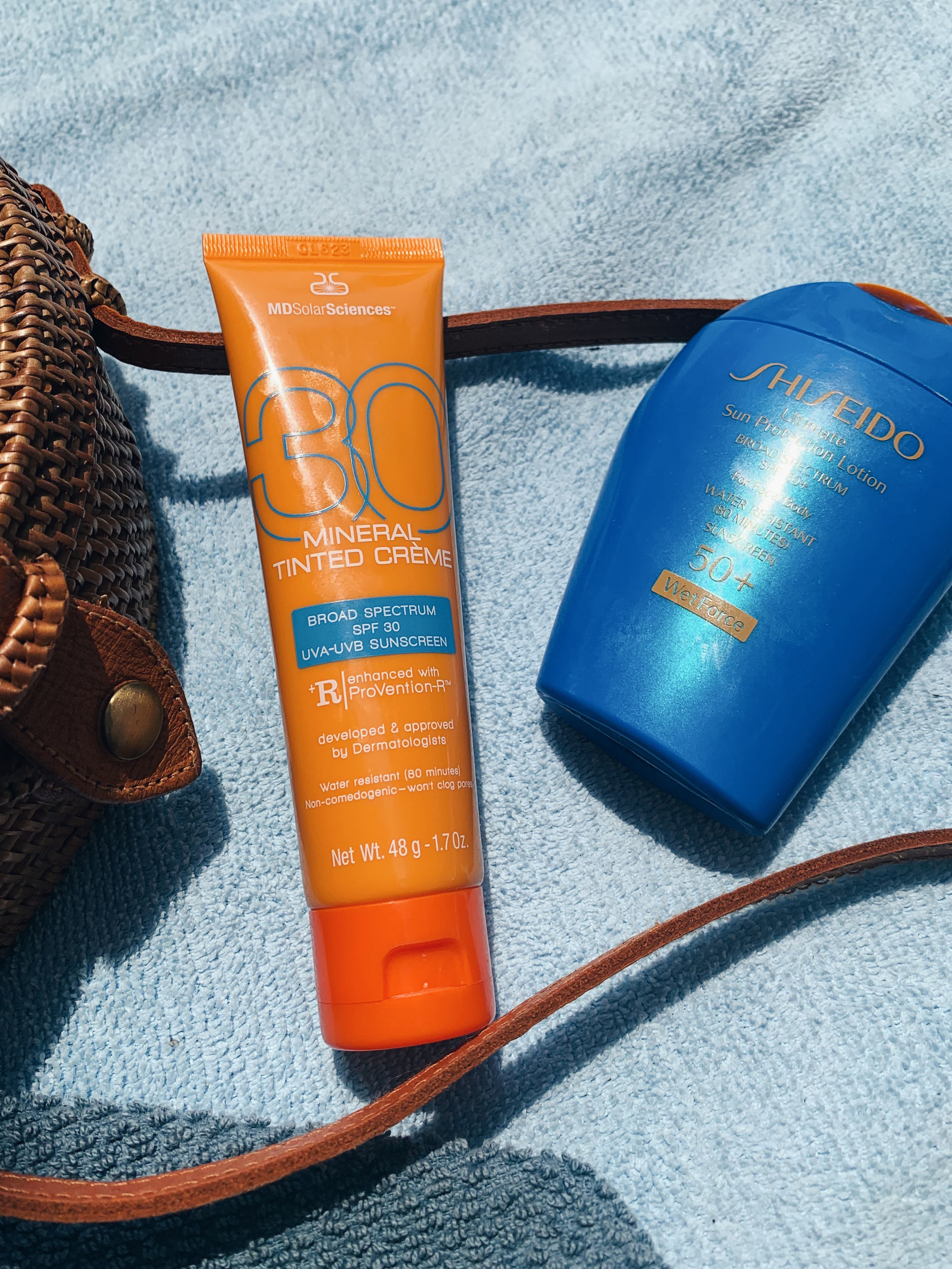 Sunscreen physical vs chemical
