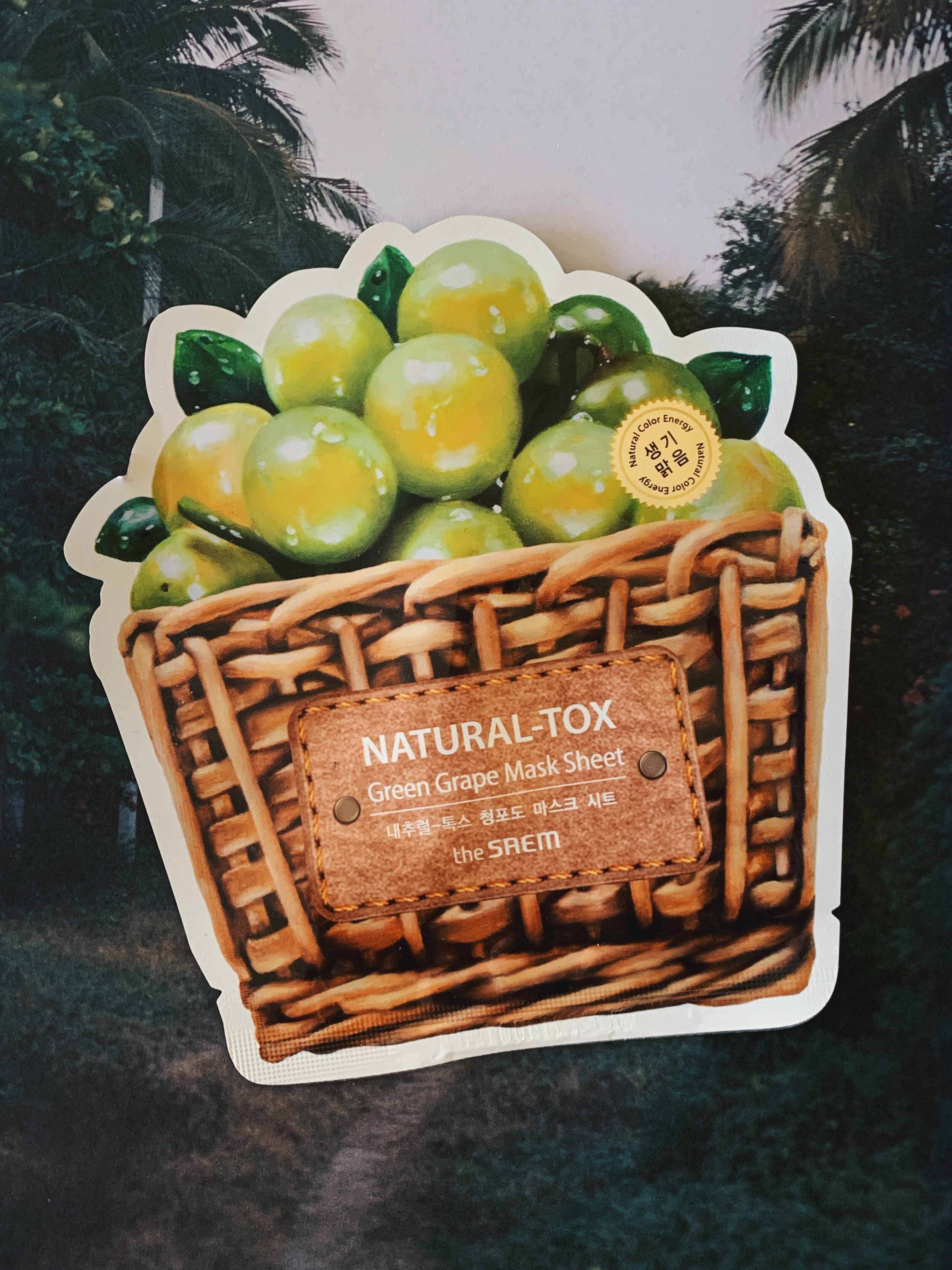 Natural-Tox Green Grape Mask To Dew List