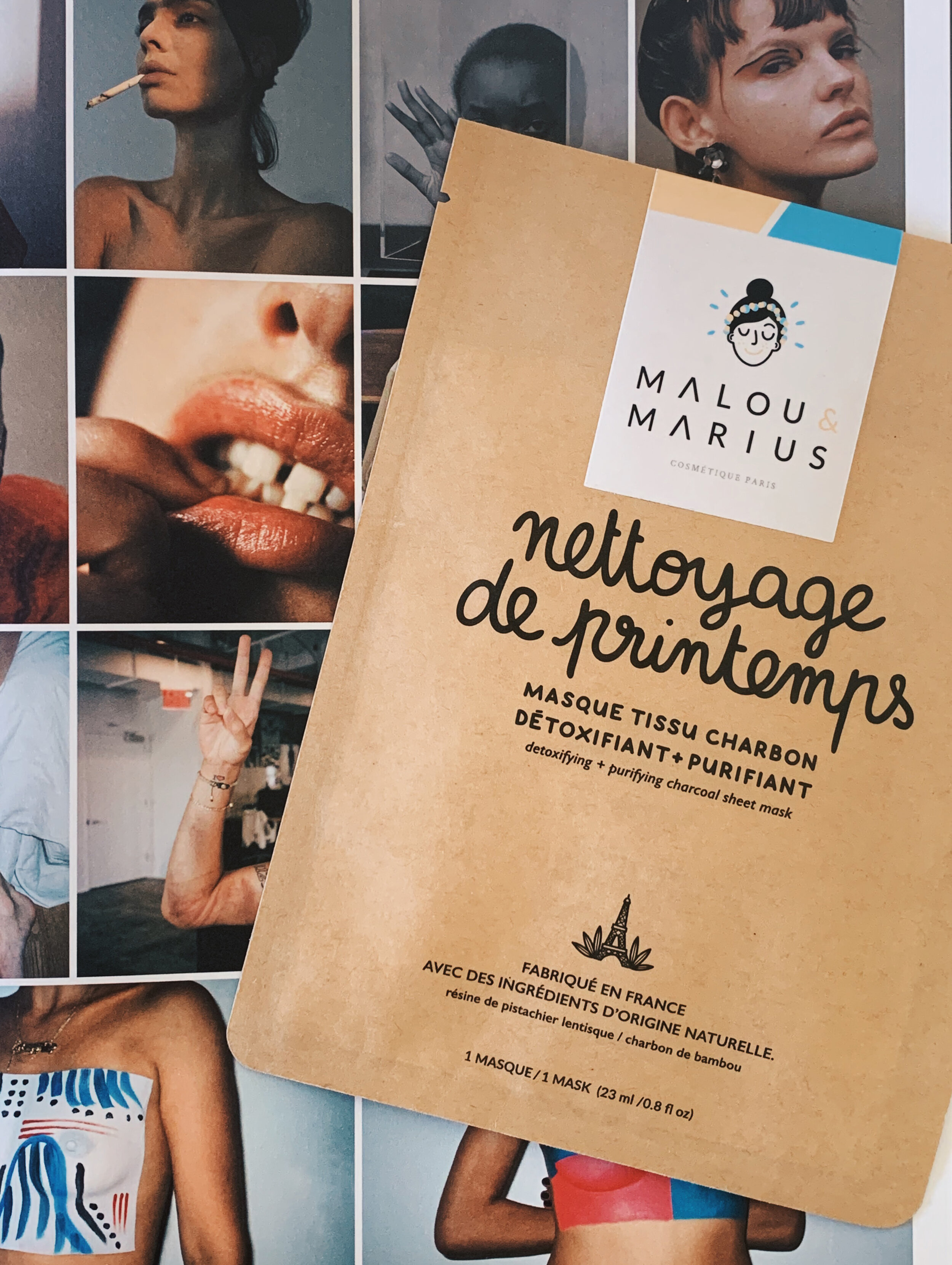 Malou and Marius Sheet Mask Review To Dew List