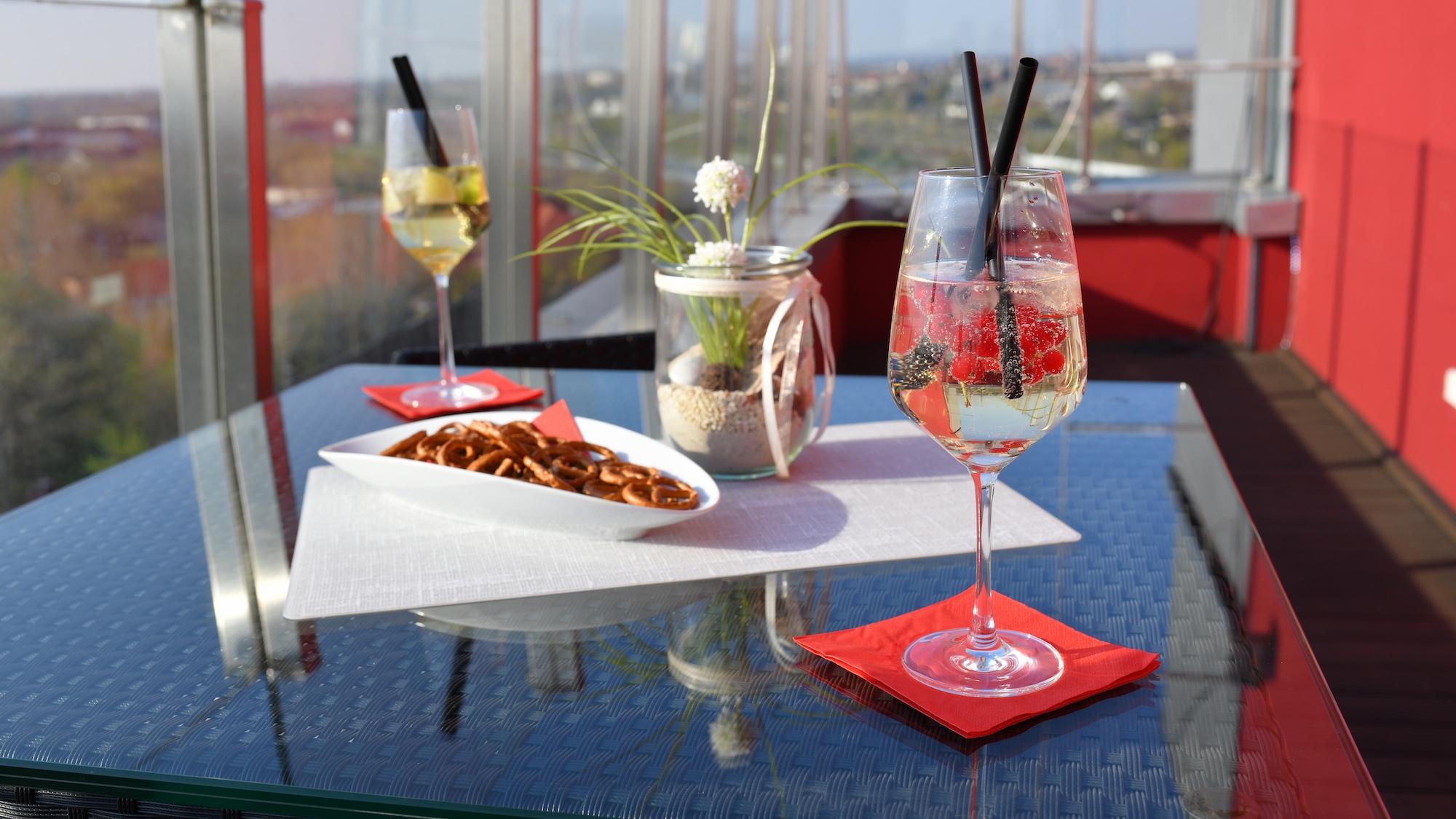 höchstes Restaurant Sachsen anhält rabennest merseburg Skyhotel