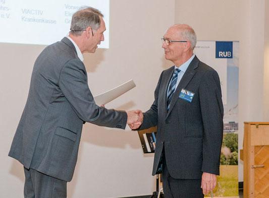 Deutschland-Stipendien - Rektor Schölmerich, Präsident Kemner