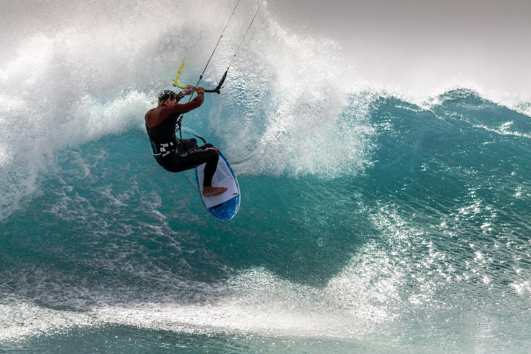 BWSURF Kites - Unbeatable surf performance.