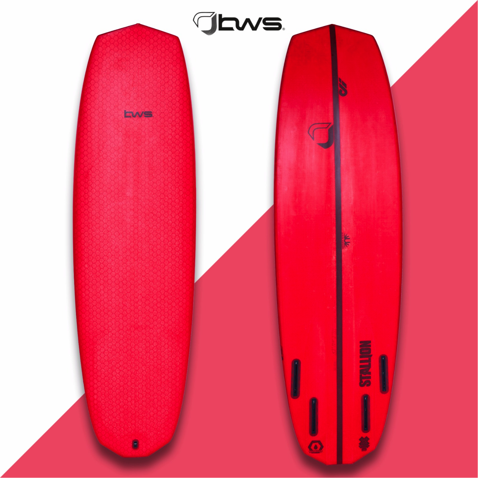 Sizes - We recommend opting for 6′′ to 8′′ shorter than your standard directional. If you're hesitating between 2 sizes, here's a thought; when your first objective with the Stallion is the freestyle strapless discipline go for the shorter one, if your first concern is performance in the waves, go for the longer one.*Sizes 4'8 and 4'10 come without deck channelsSizes:4'10 x 17'25 x 1'8. 18,5L. 2,8kg5'0 x 17'4 x 2'. 20L 2,9kg5'2 x 17'88 x 2'. 22L 3,0kg5'4 x 18'33 x 2'12. 24L 3,1kg