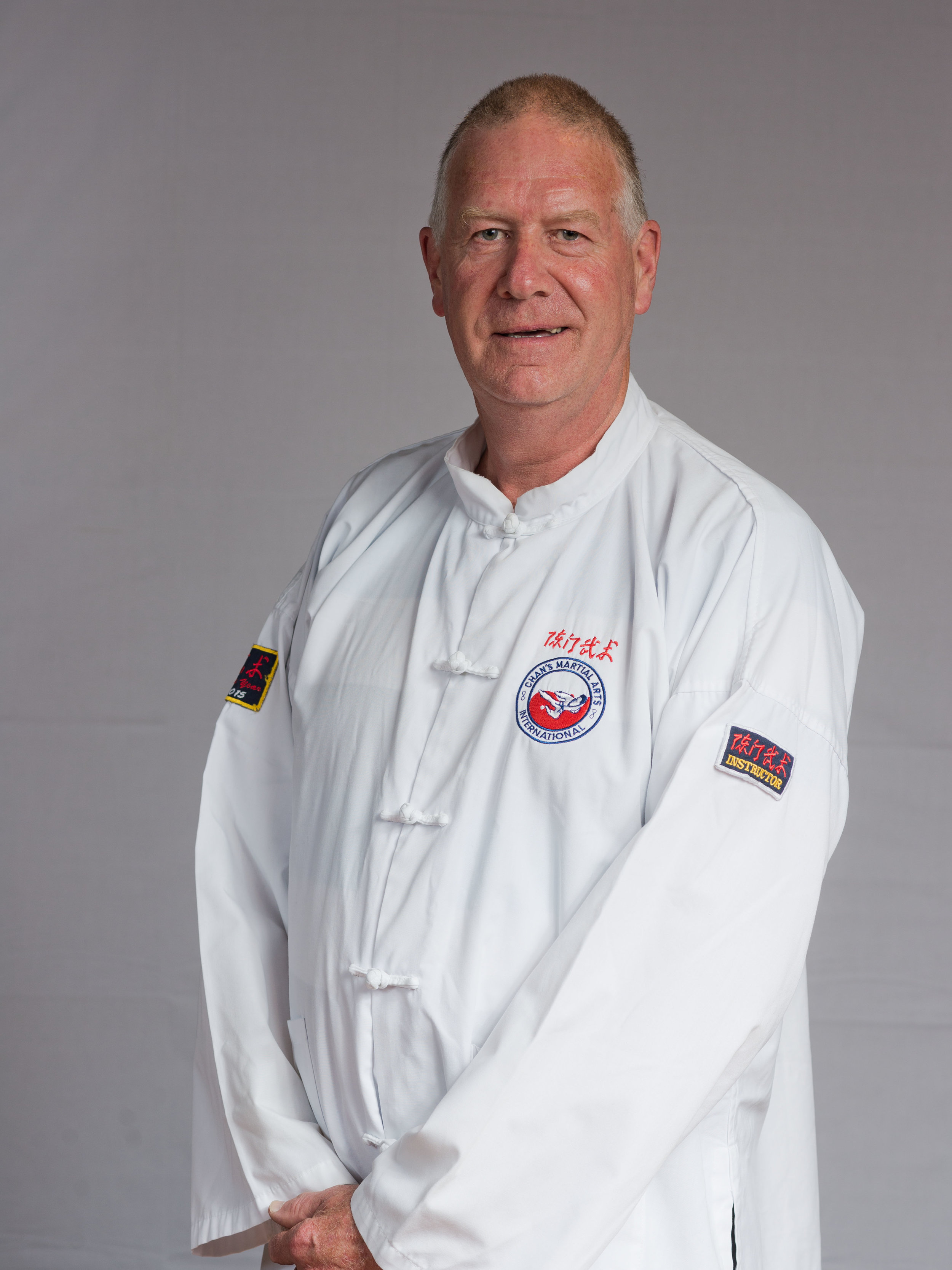 Chief Instructor - Brent Davidson Laoshi