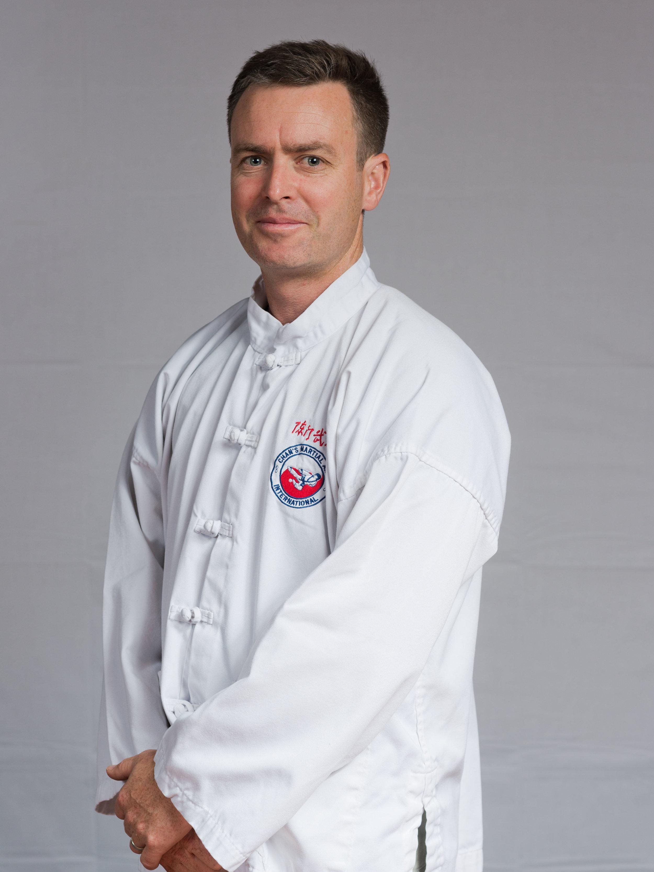 Kung Fu Instructor - David McQueen Laoshi