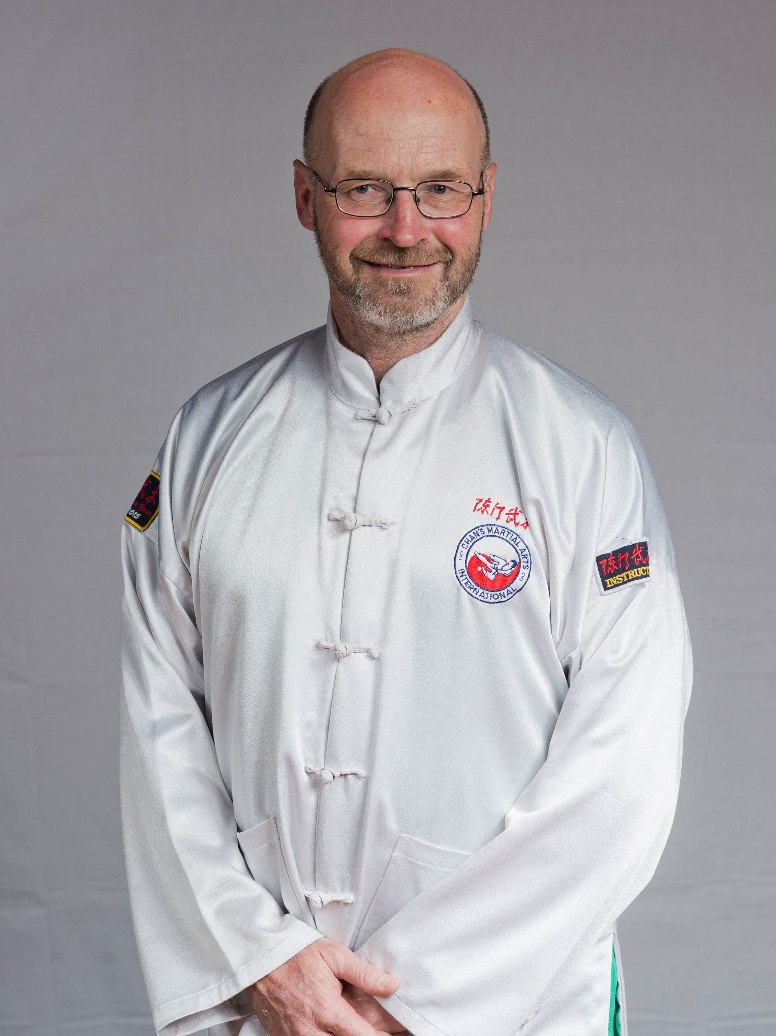 Chief Instructor - Barry Thompson Laoshi