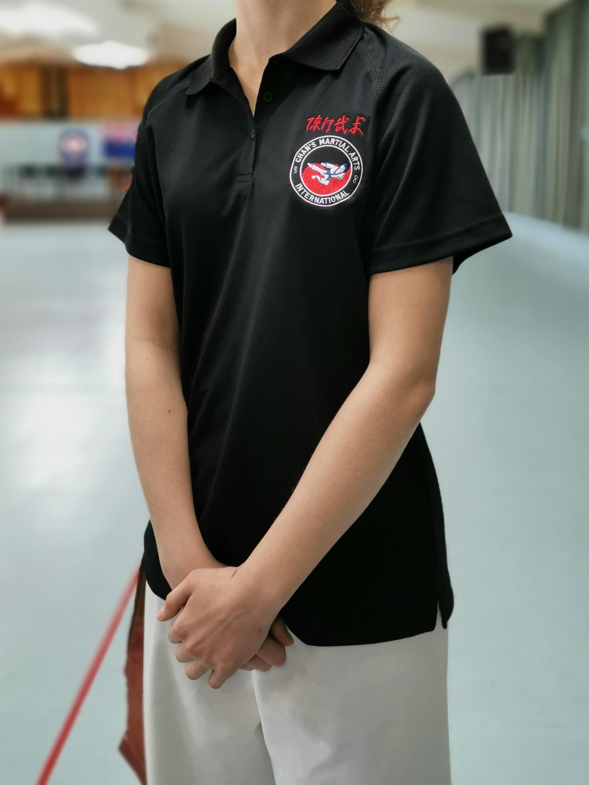 Black Polo Shirt - $35