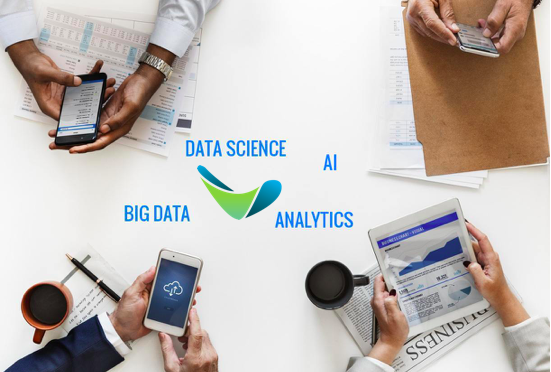 We provide software and services at the intersection of artificial intelligence, data science, big data and analytics. -