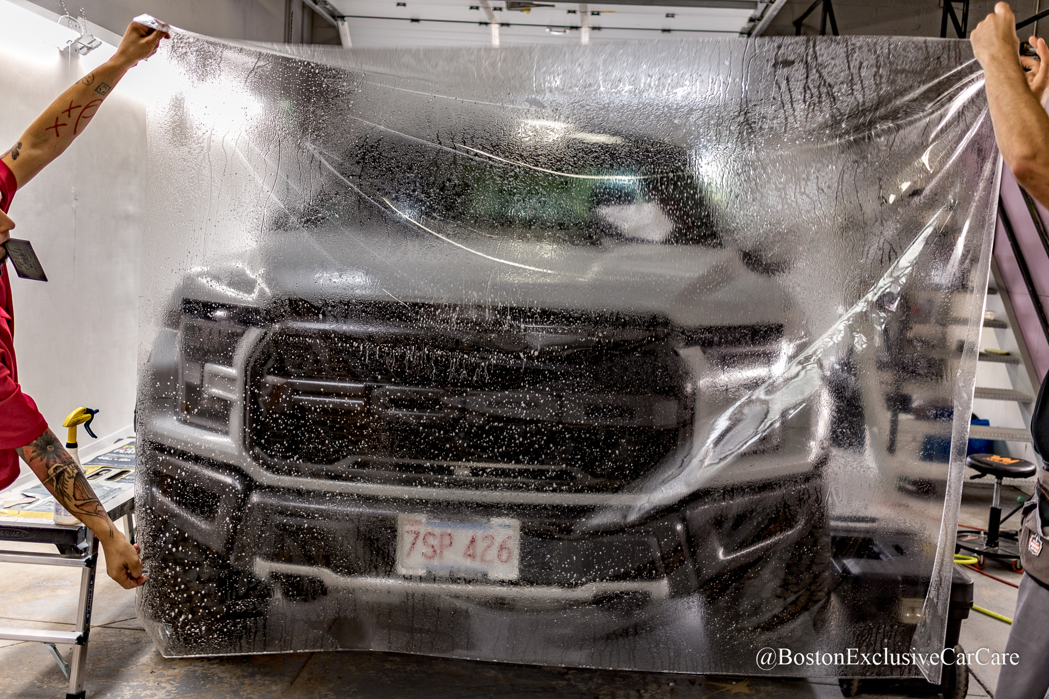 Ford Raptor - Xpel Ultimate Plus Clear Film
