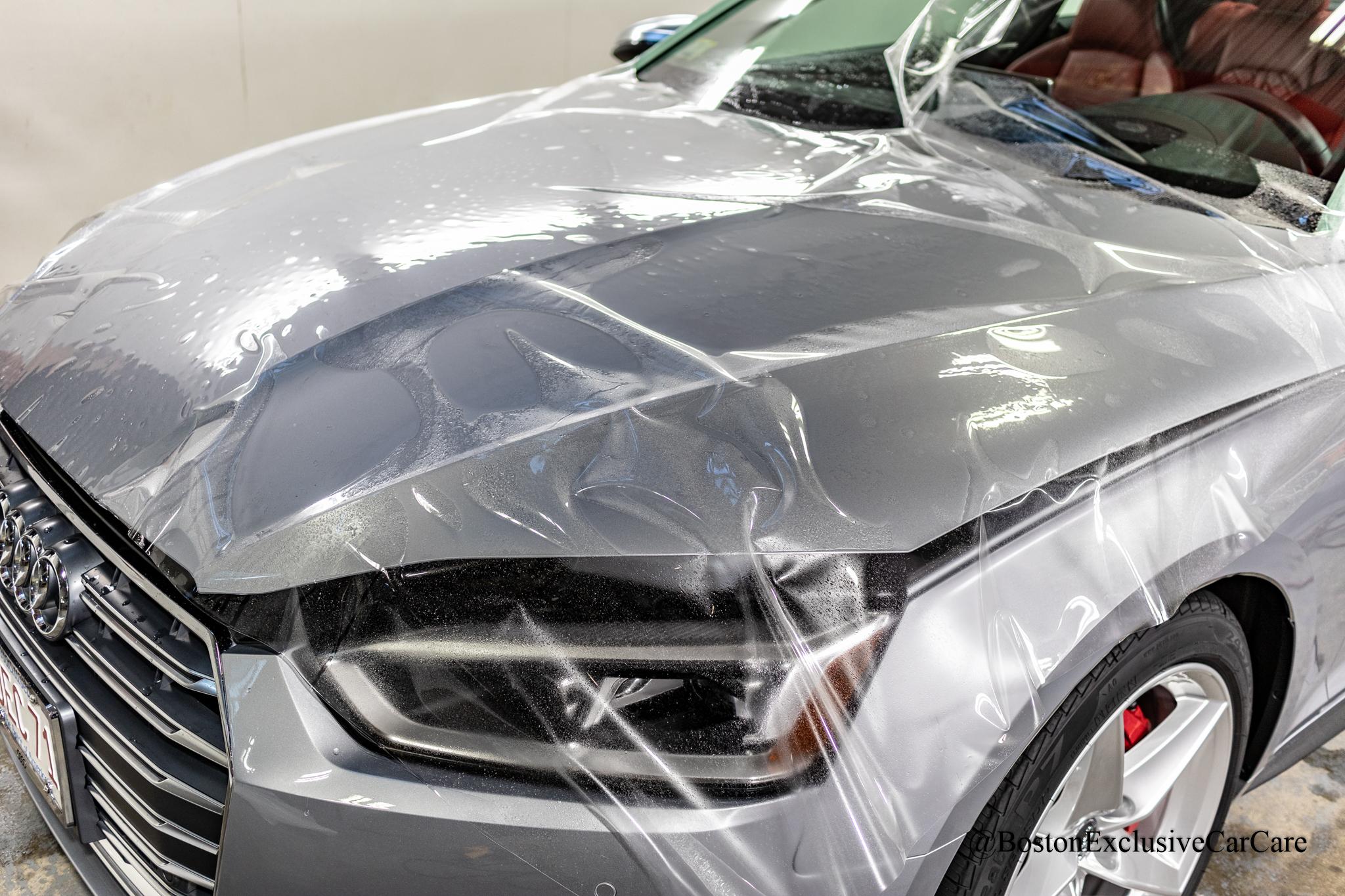 2019 Audi S5 - Xpel full nose with Opti-Coat Pro Plus coating -