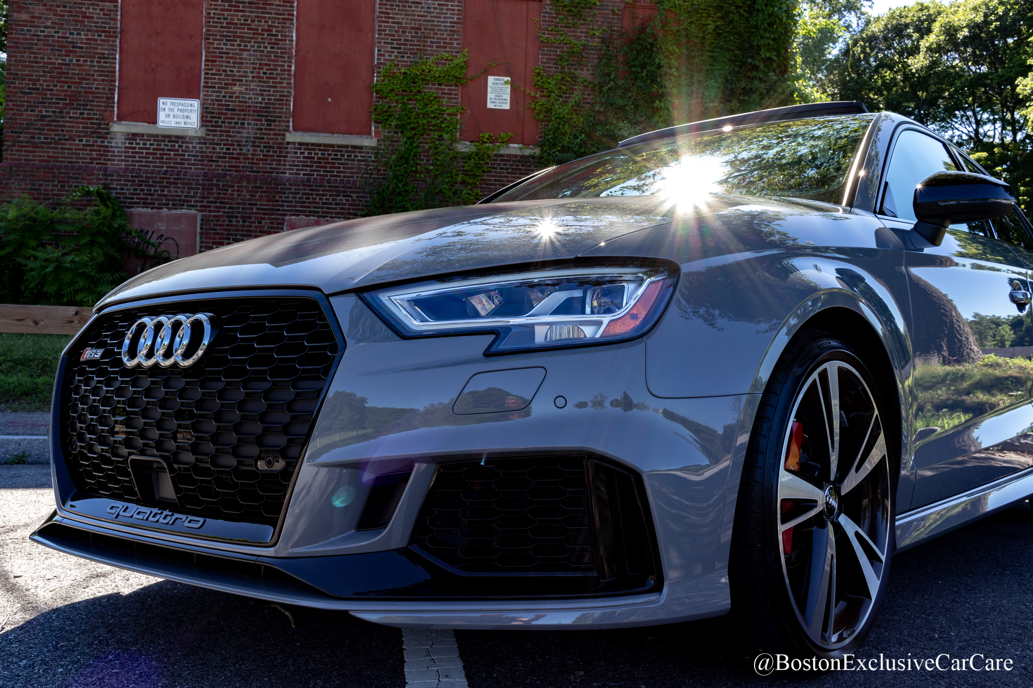 Audi RS3 - Xpel Ultimate full car wrap with coating. -