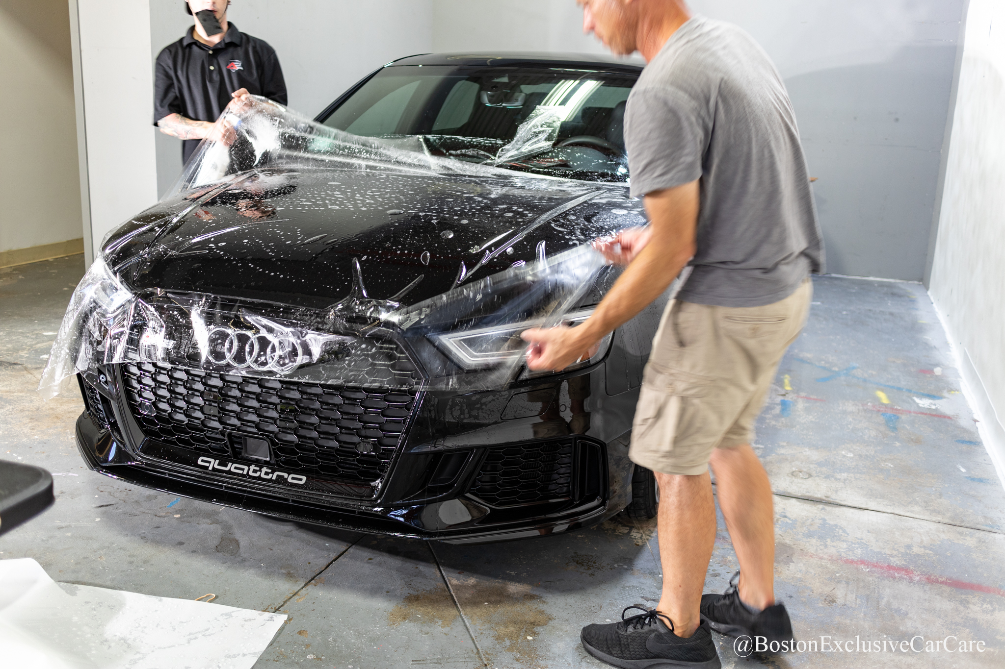 Audi RS3 - Xpel Ultimate full nose wrap, paint correction and coating -