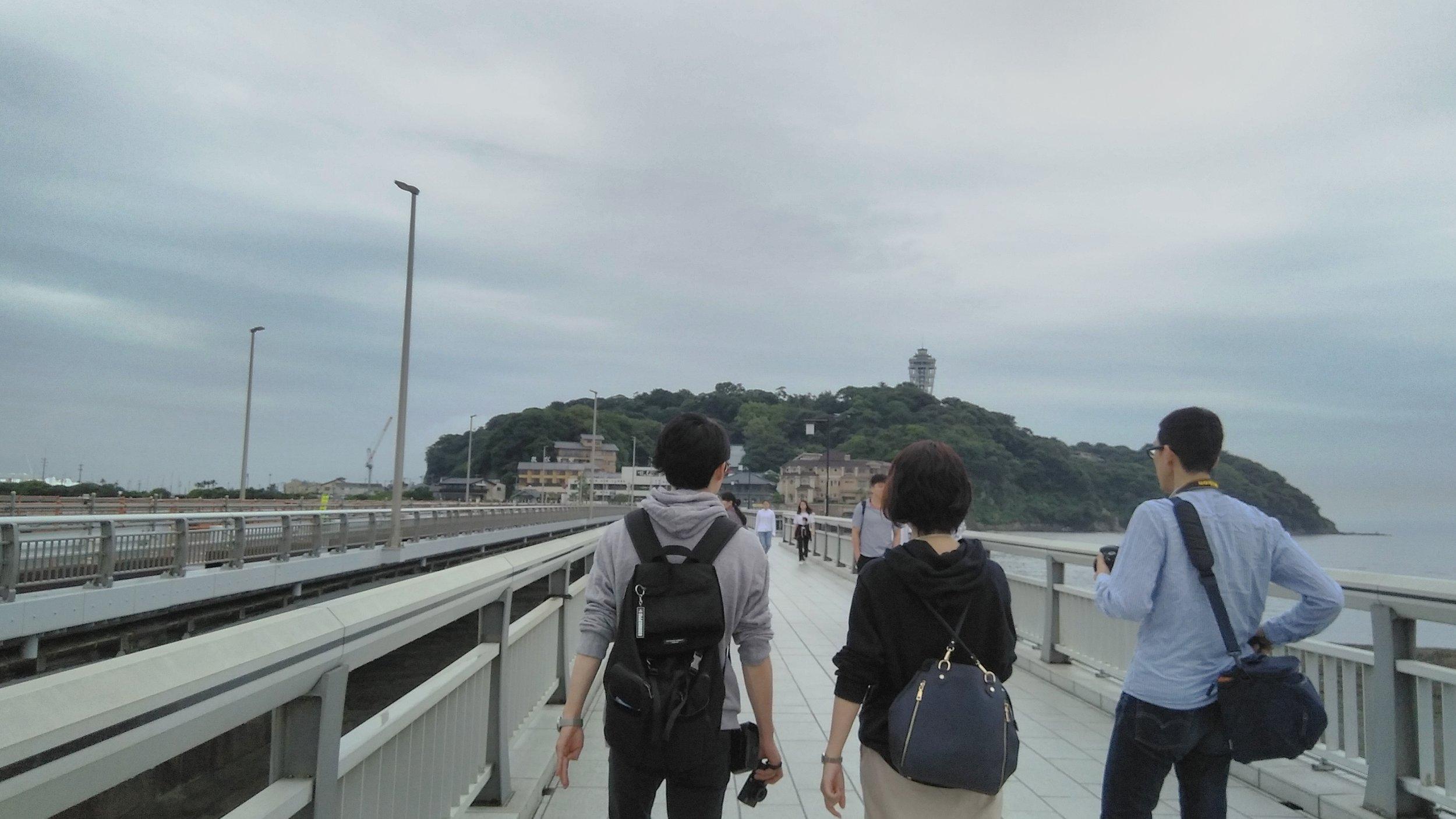 bridge to Enoshima!