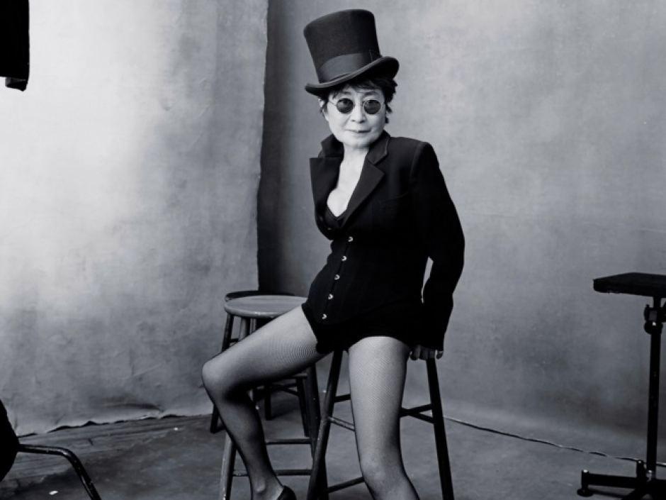 Yoko Ono by Pirelli/Annie Leibovitz.