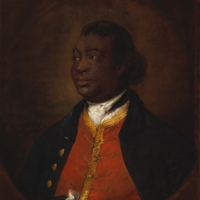 ignatius sancho - painted by Thomas Gainsborough