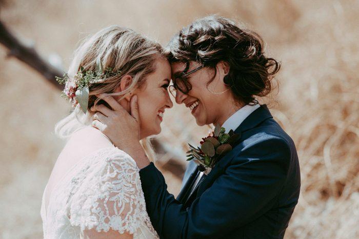 #queerweddinggoals via  Junebug Weddings