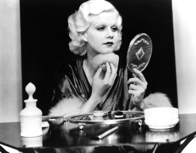 Jean Harlow, the original blonde bombshell