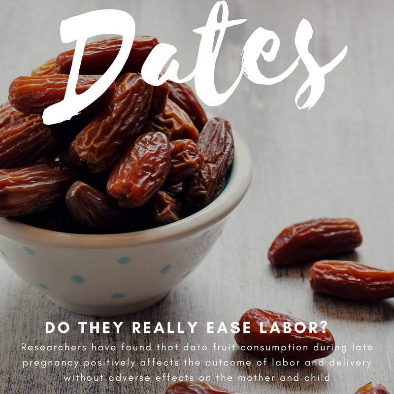 Do dates really ease labor?