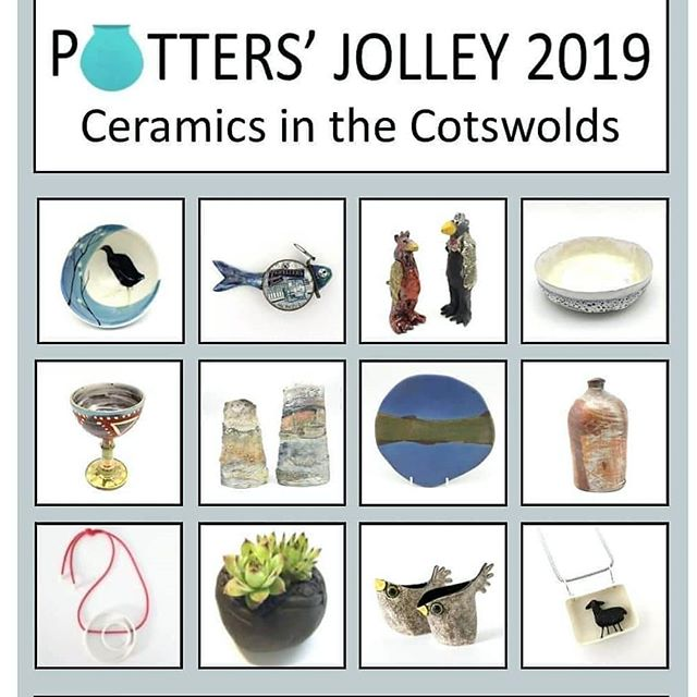 @pottersjolley is this weekend, 19th and 20th October in #Blockey.Twelve local potters, including our very own @leylafolwellceramics, will be selling their work in this beautiful Cotswold village. There'll be something for all tastes and budgets while you enjoy a cuppa and locally baked treats. Saturday 10 am - 5 pm and Sunday 10 am - 4 pm. @leylafolwellceramics @leylafolwell - - - #art #Cotswolds #cotwoldartists #visitgloucestershire #visitcotswolds #ceramics #pottersjolley #pottery #warwickshire #art #ceramicartist #potsinaction #maker #potterylovers #claylife #potteryforall #potterylife #handmadeceramics #handmadepottery #potterymaking