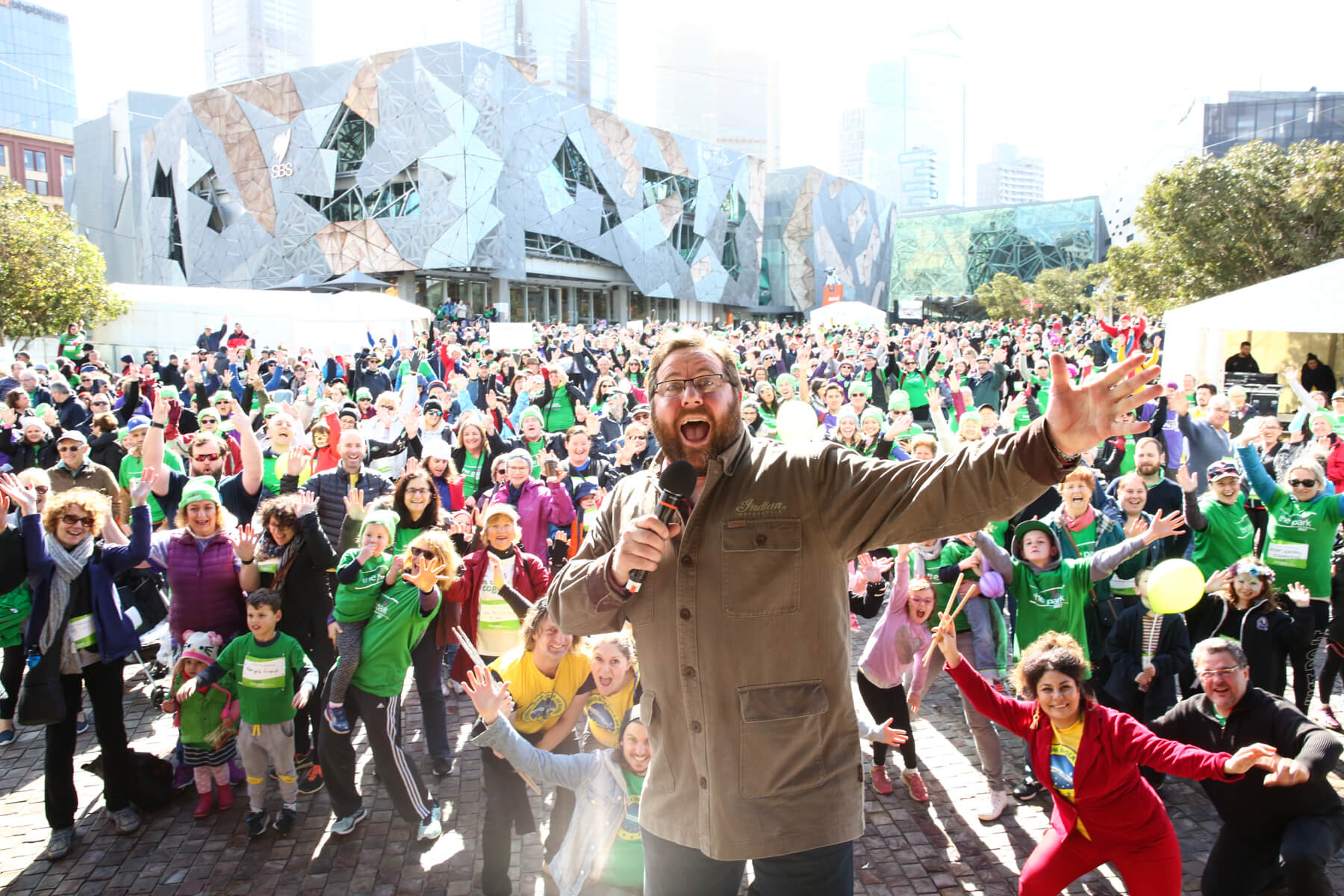 Shane Jacobson in front of crowd shot.JPG