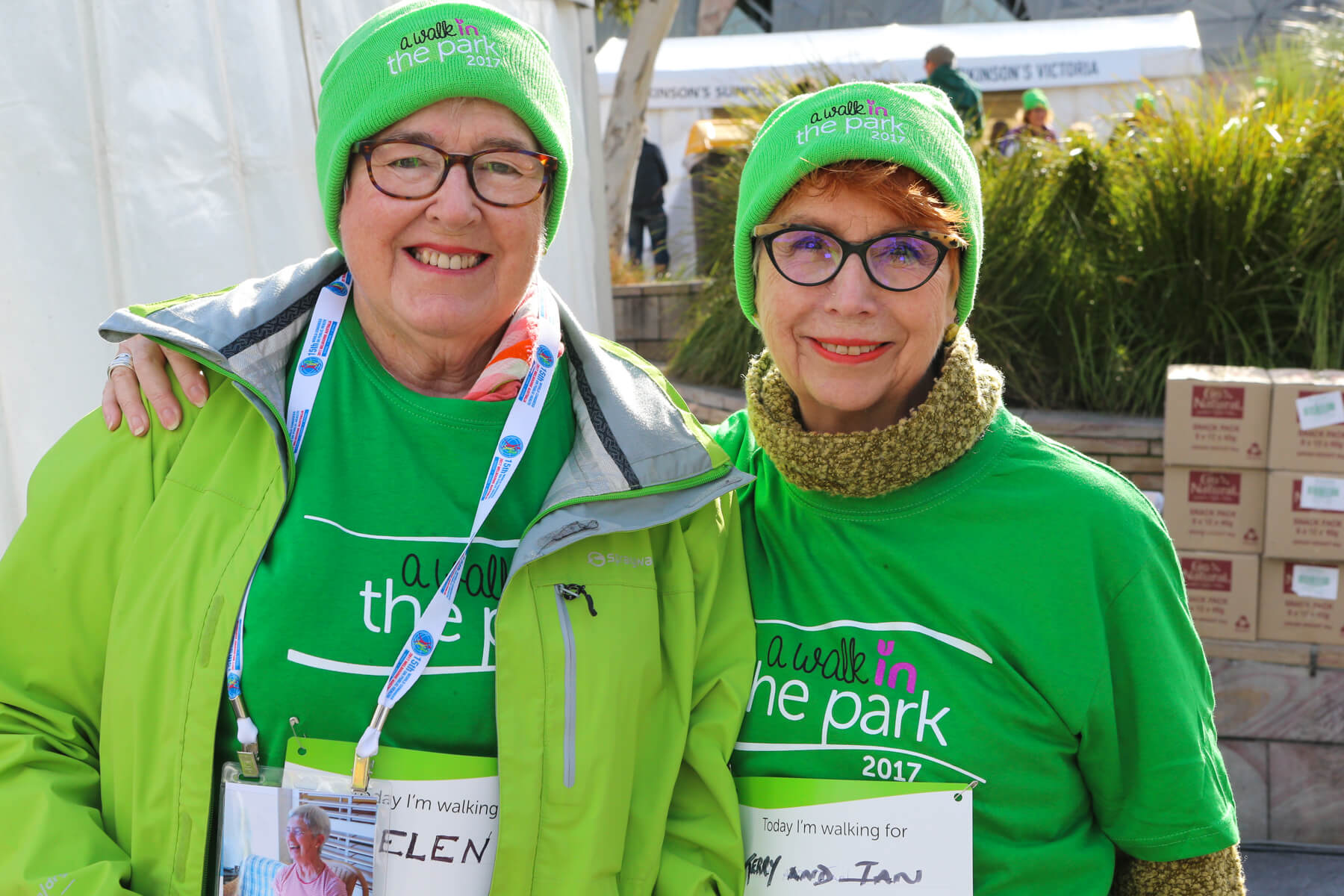 Parkinson's Victoria tenth anniversary A Walk in the Park 2018 Sun 26 Aug at 11am.JPG