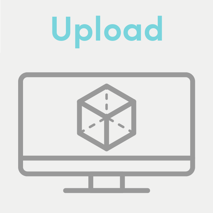 Upload your digital model (or we can help you create one).