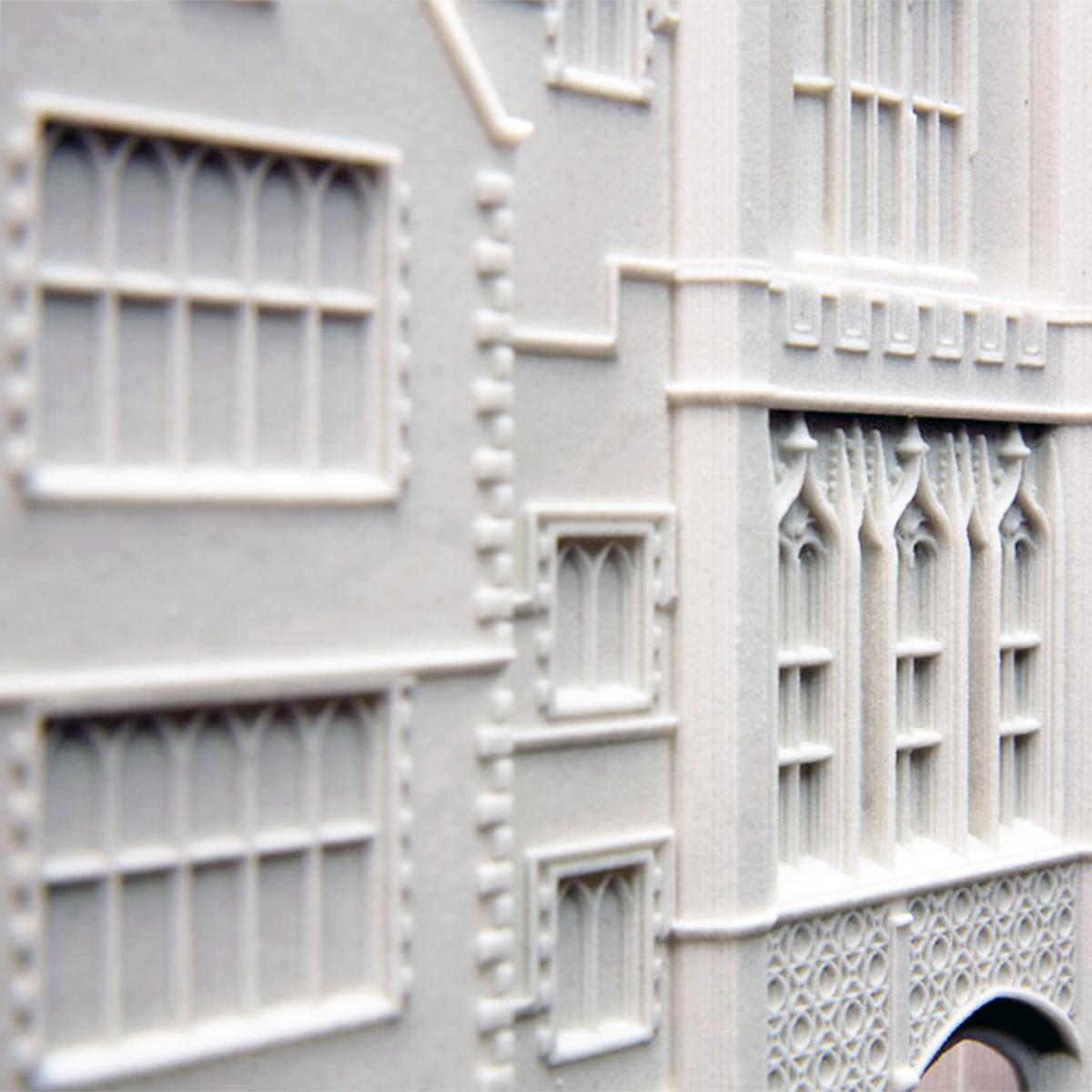 CJP Powder 3D Printed Model Facade