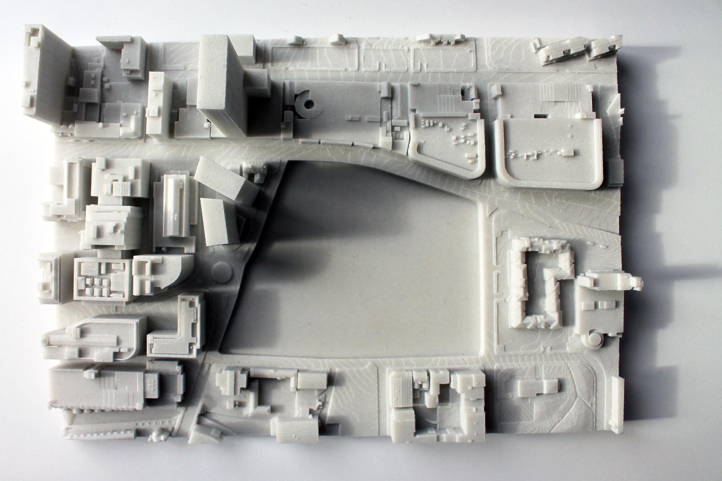 SLS Context 3D Printed Model
