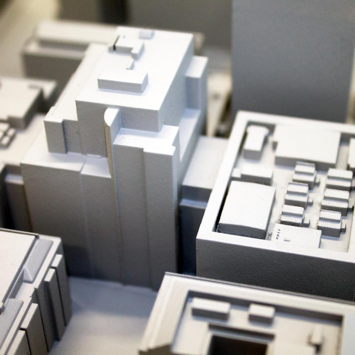 SLA Resin 3D Printed Context Model