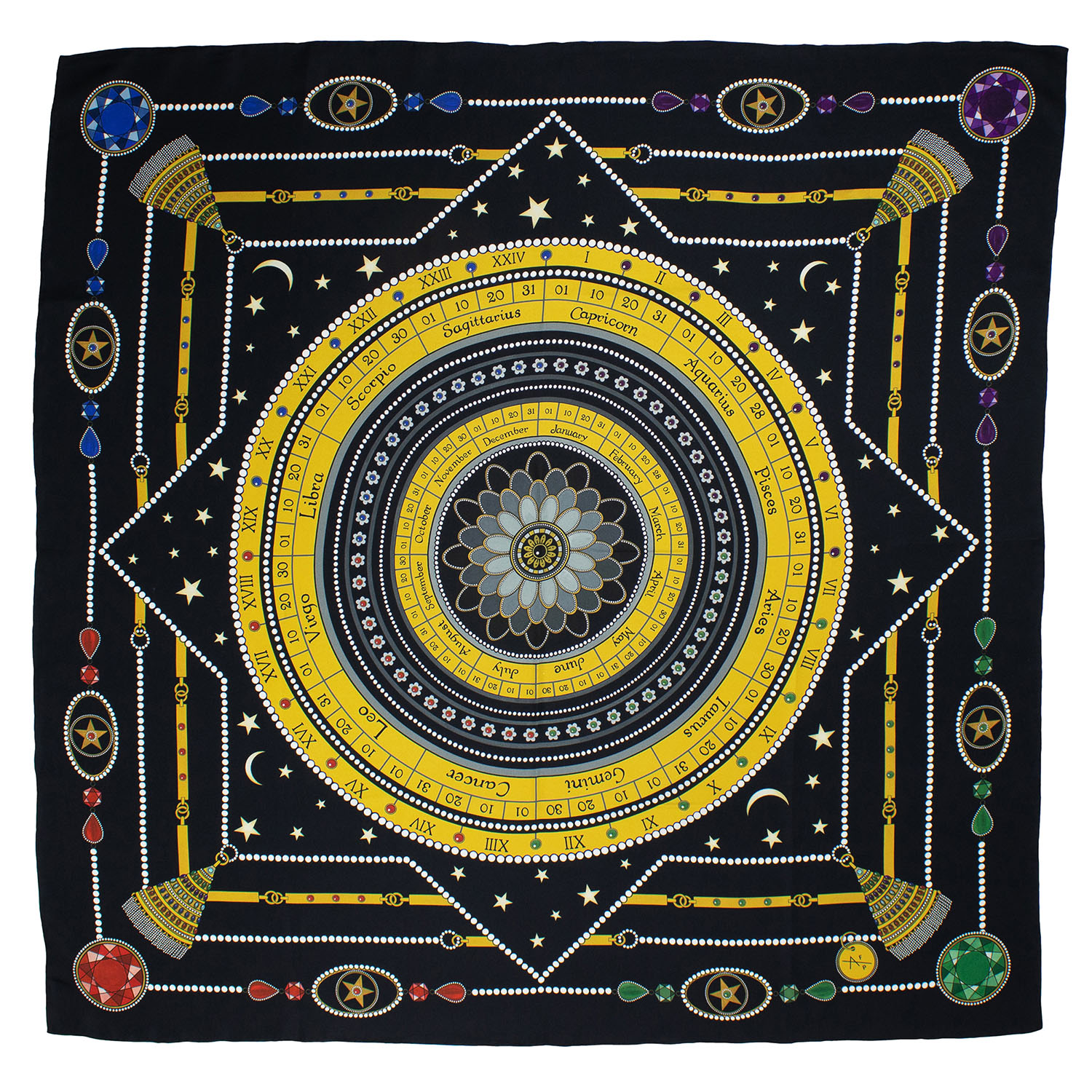 Astrology scarf