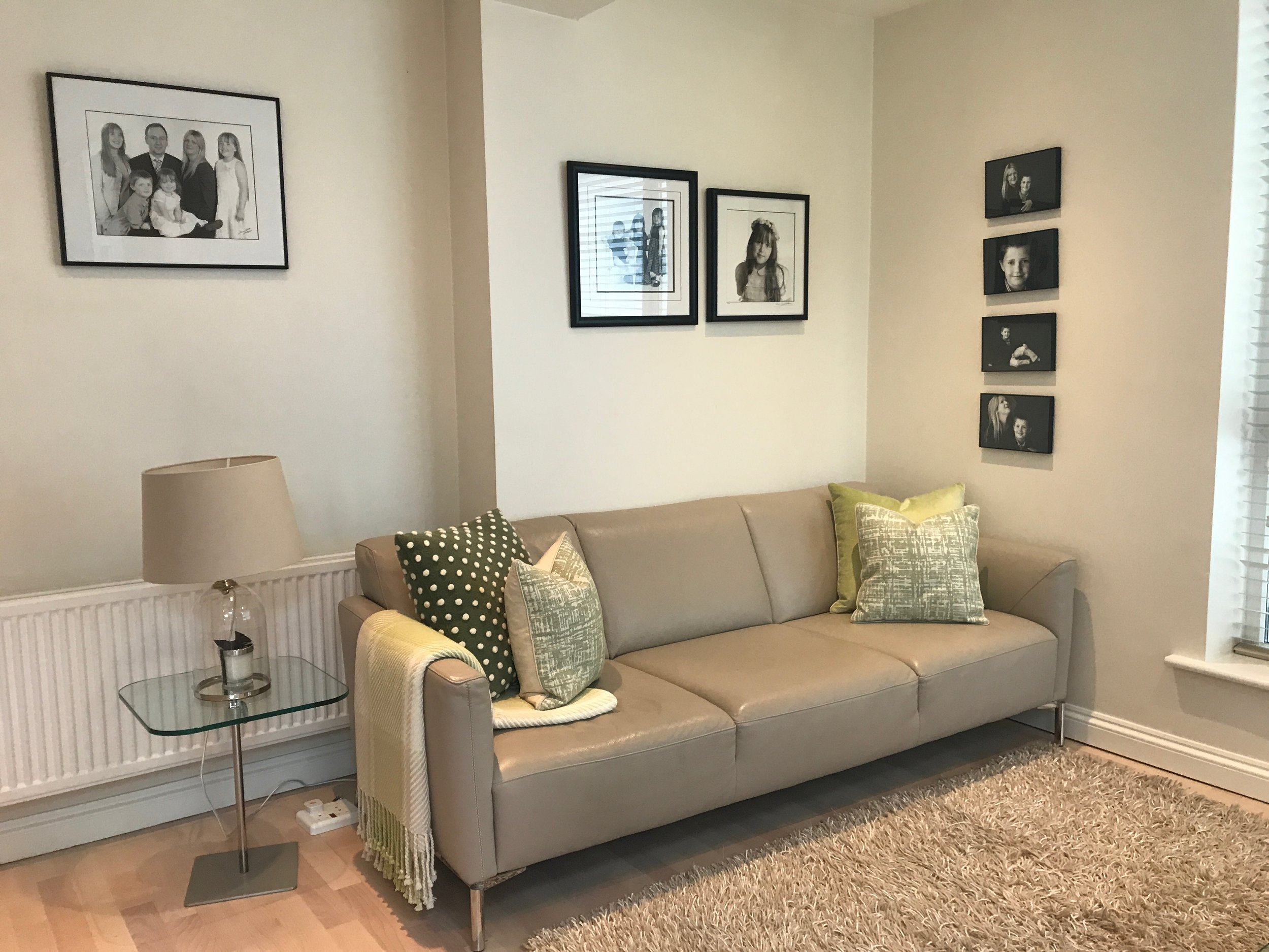 Clontarf living area