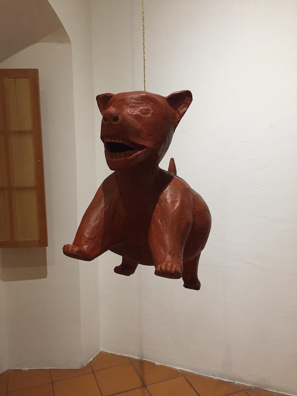 Colima Dog, 2018, paper mache