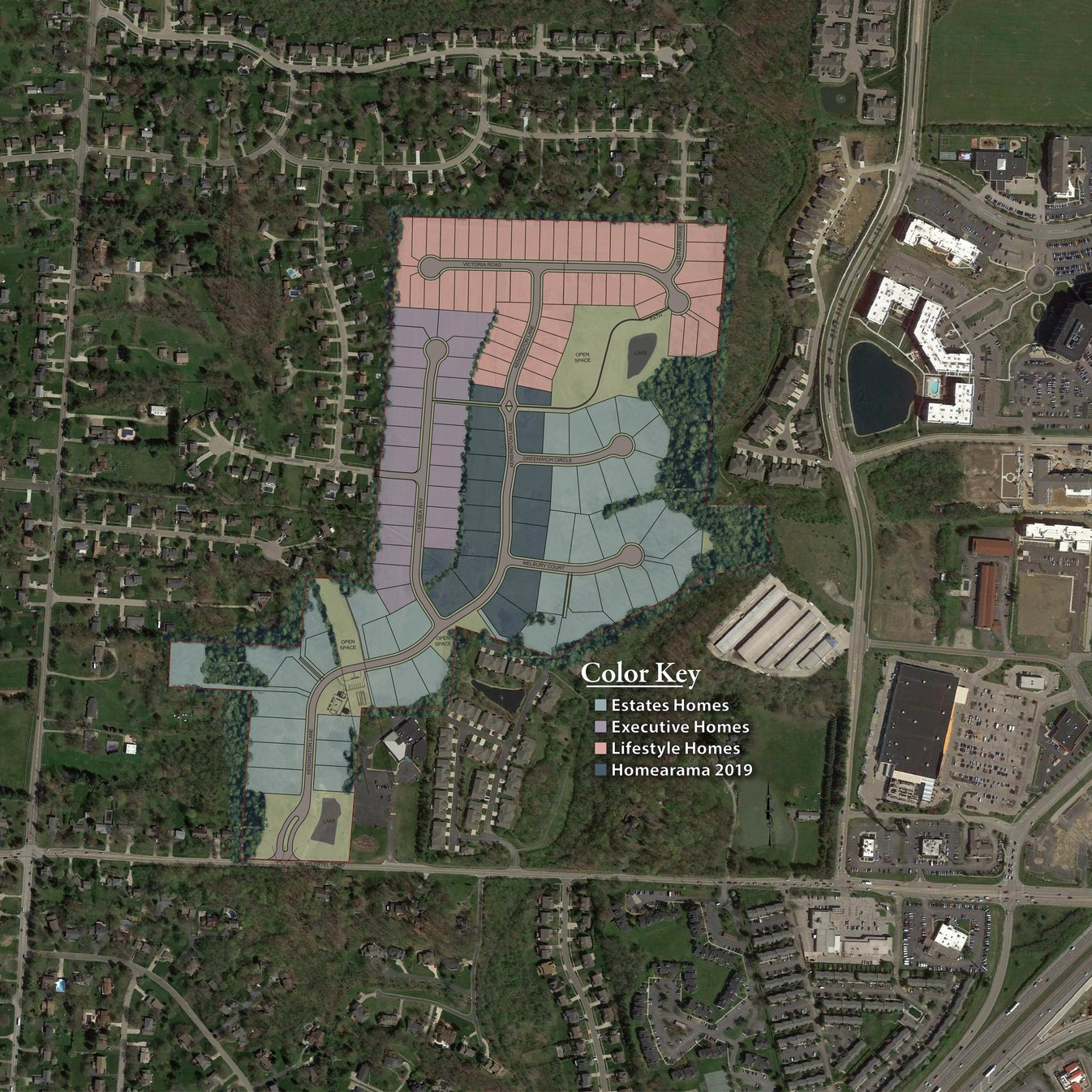 PRIME HOME SITES - You won't find better home site options than in Kensington! Choose from lot sizes ranging from .4 to over one acre, wooded or open, private or in the heart of of it all, level or rolling, see which site is perfect for your new home.