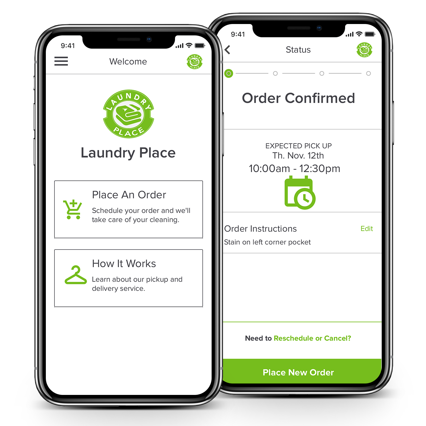 Laundry and Dry Cleaning in your pocket. - Place orders, track items, and seamlessly pay using our app.Download Now