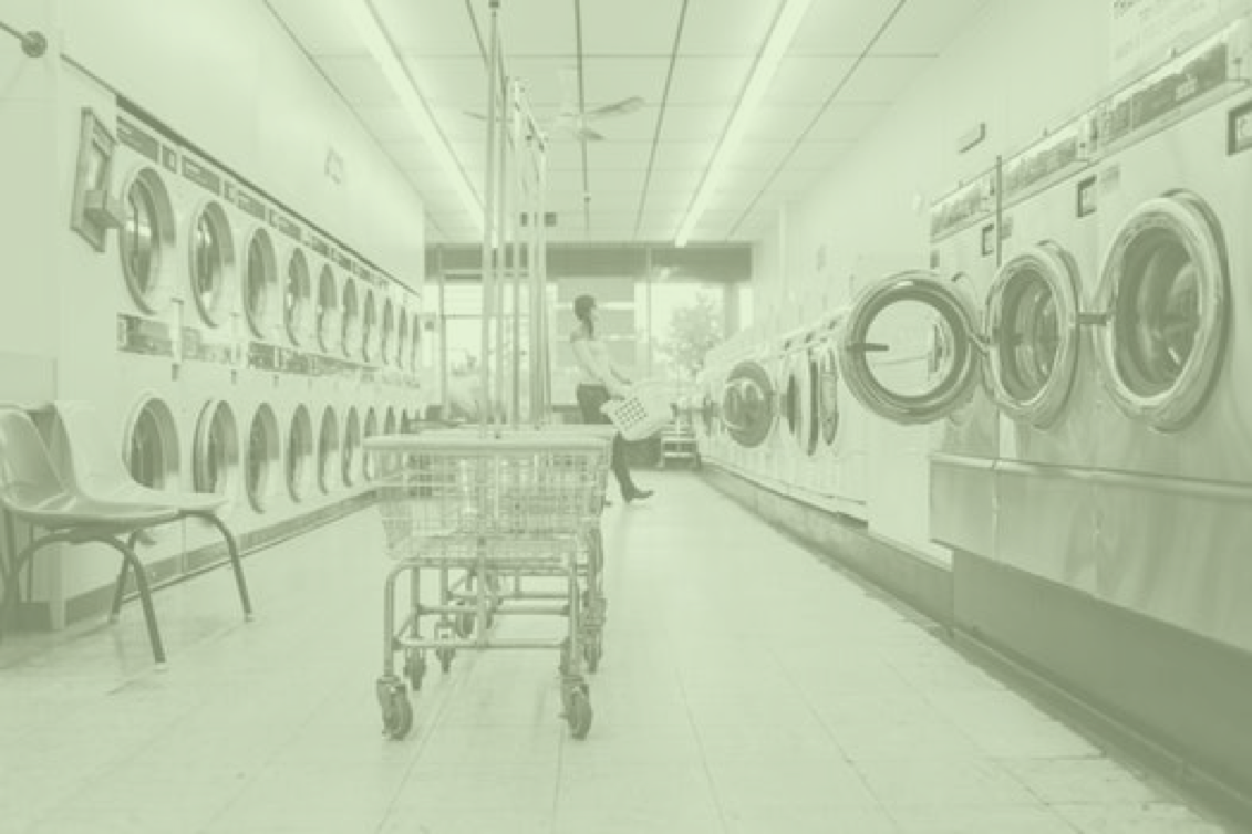 SELF SERVICE AND LAUNDROMAT - ╲╱
