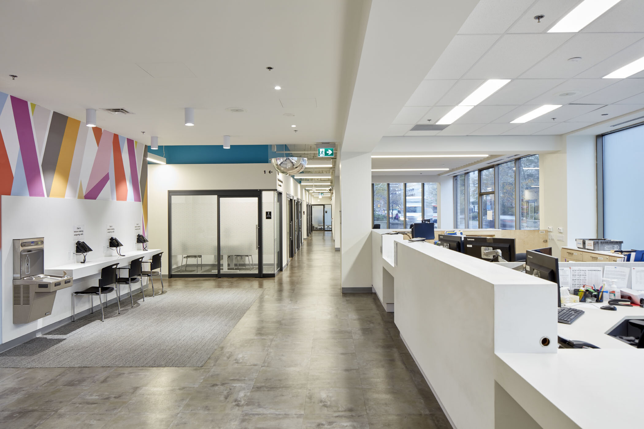 Wellesley Social Services Centre  |  Toronto, ON
