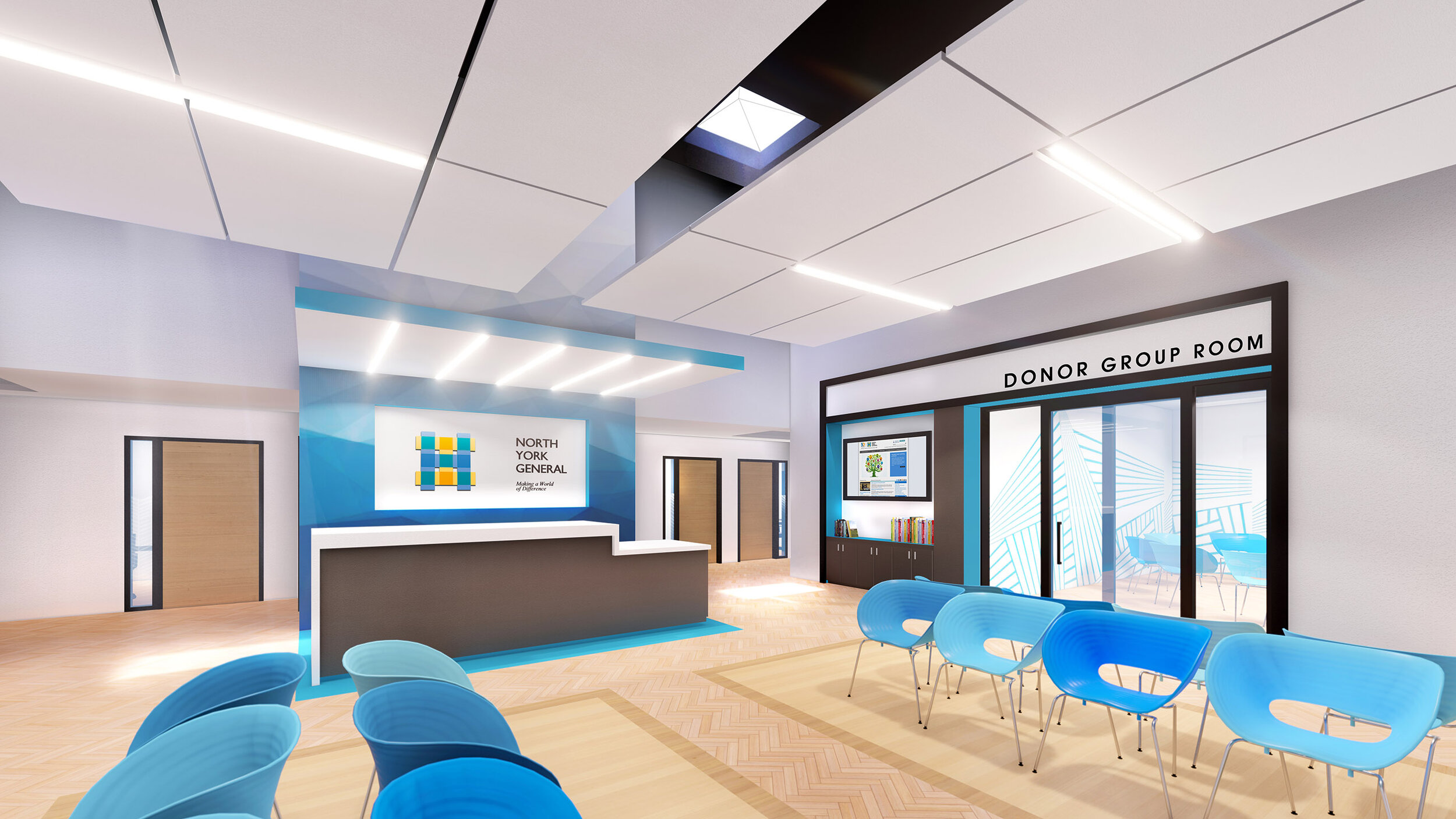 Outpatient Services Centre, NYGH  |  Toronto, ON