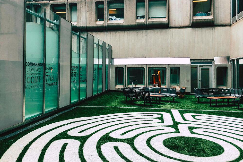 3G Courtyard, McMaster Children's Hospital  |  Hamilton