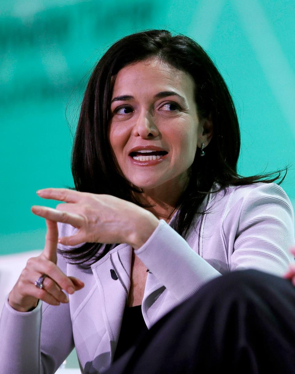 Facebook Chief Executive Officer Sheryl Sandberg at U.S. Conference of Mayors in Boston, Friday, June 8, 2018. ASSOCIATED PRESS