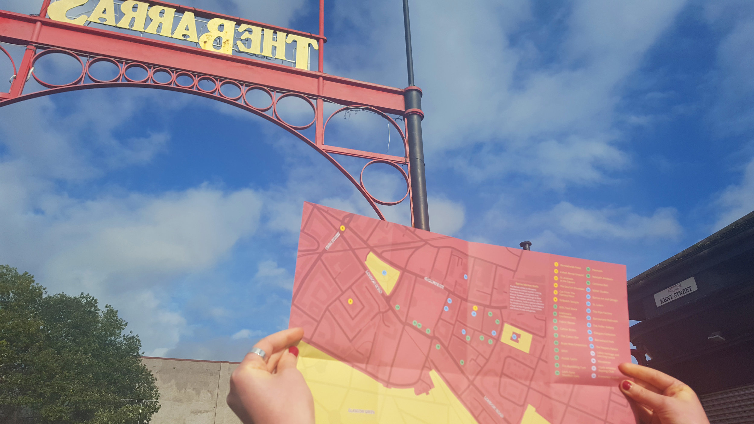 Spend a day in The Barras - an online and printed guide to the area - 2016