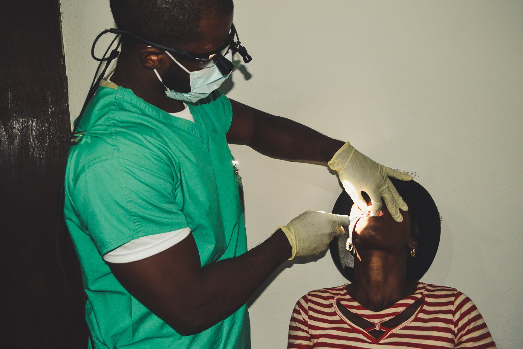 Dental Initiative - The region of St. Michel was in dire need of a dentist. We spoke to the community and realized the majority of the community had never seen a dentist! We brought in Haitian dentists from the U.S., as well as Haitian dentists living in Haiti to work beside each other to provide the region with their first dental experience. Now a fundraised dental chair and equipment is available for use in the community for the long-term. Join our efforts in establishing dental sustainability!