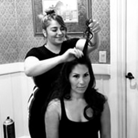 Areti - Areti is passionate and has a love for all things fashion and beauty. Areti's expertise and creativity is utilized to provide her clients with excellent service and outstanding results!With years of experience in both salons and the freelance wedding world Areti is an expert at undo, down styling and blowouts.Whatever the style Areti aims to have her clients leave feeling like their most beautiful and confident selves.