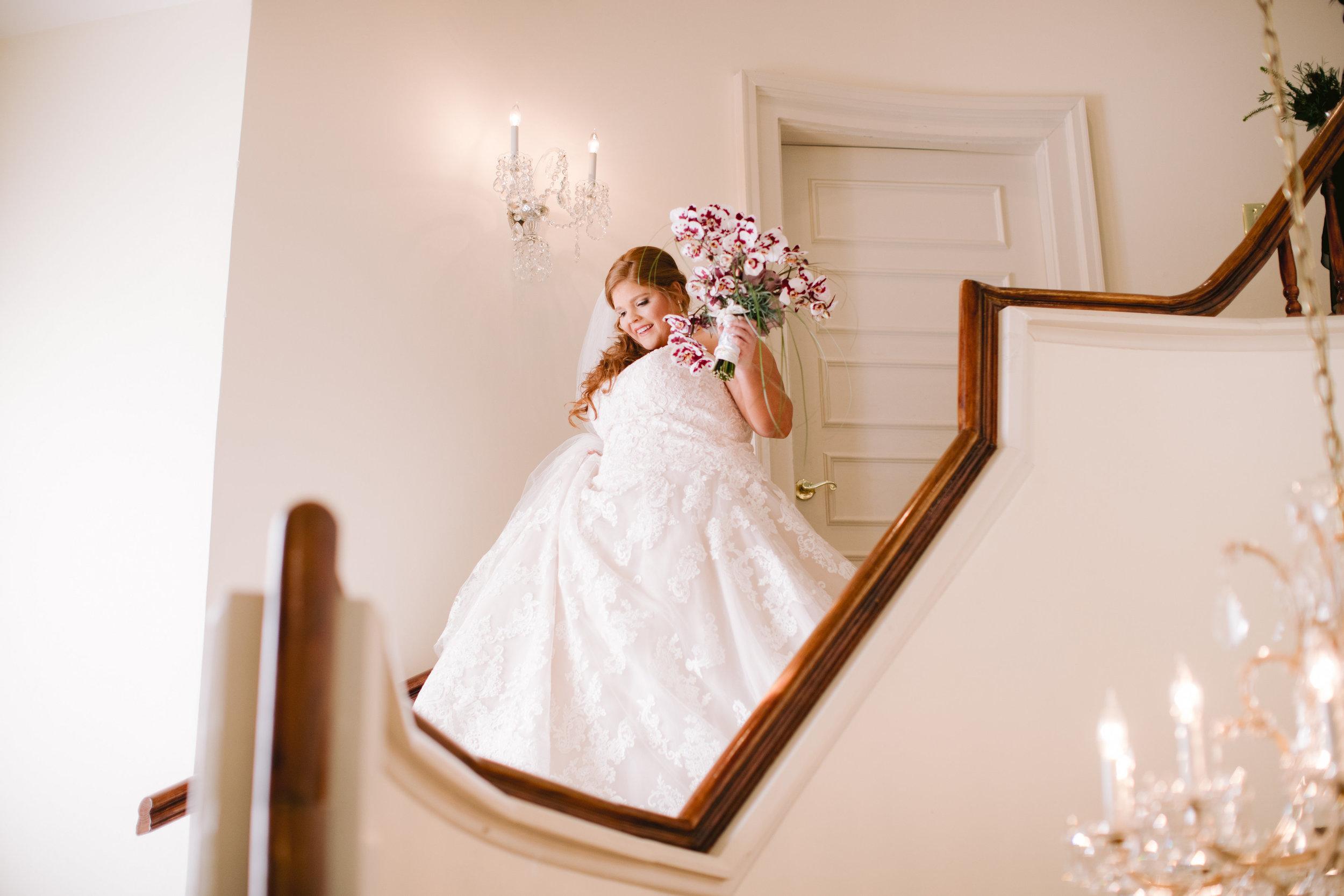 atlanta bride spring wedding