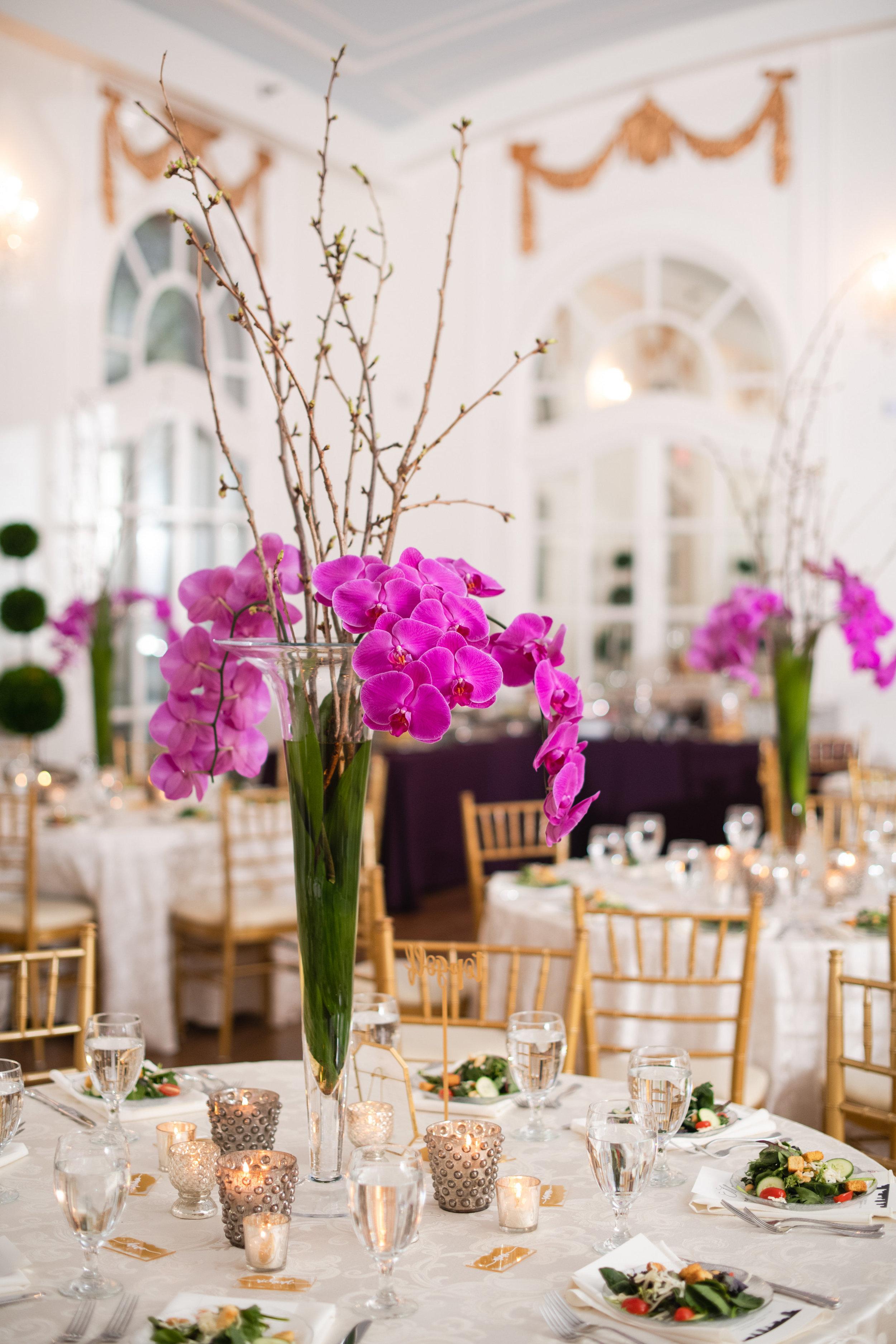 atlanta wedding reception decor