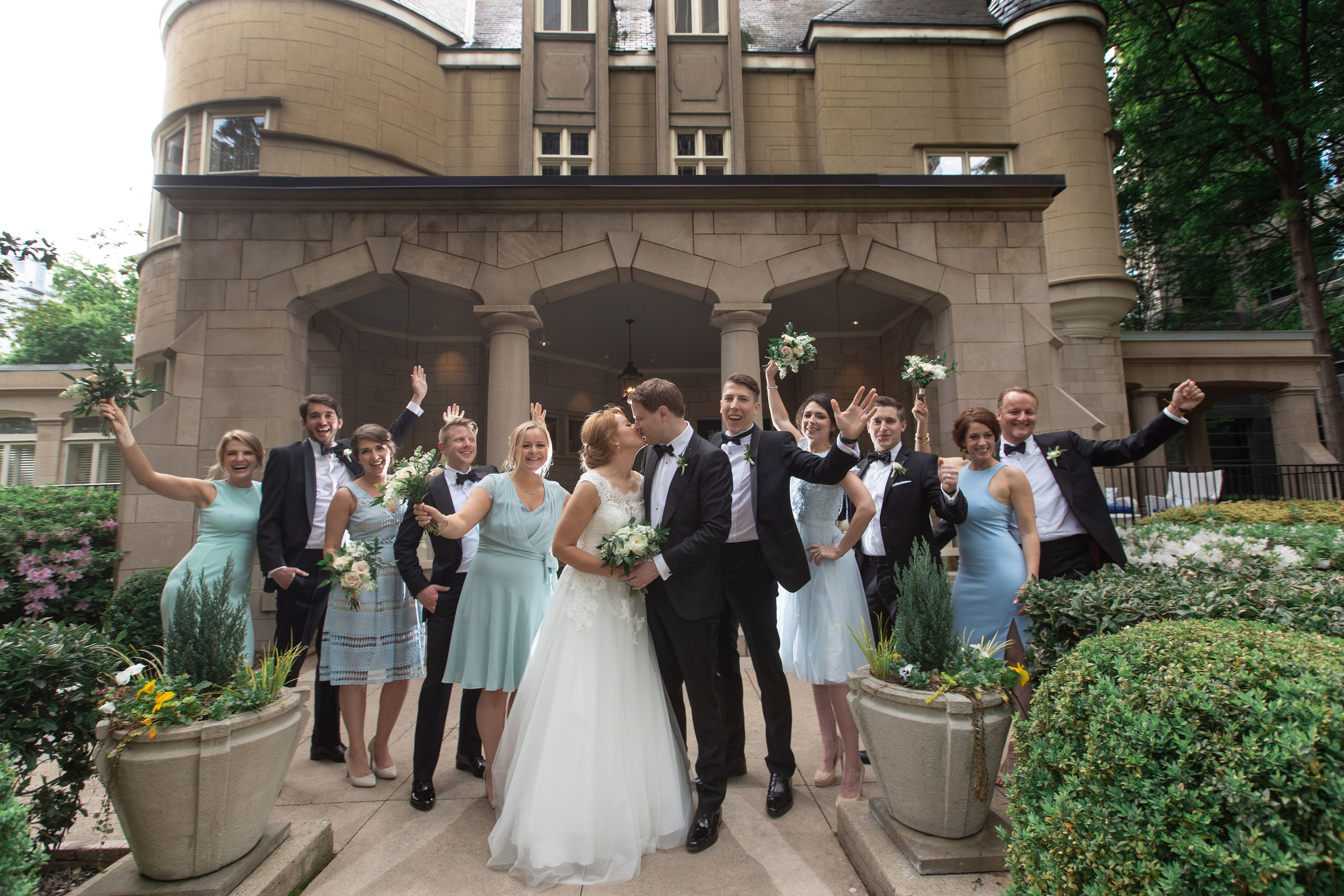 wimbish house bridal party