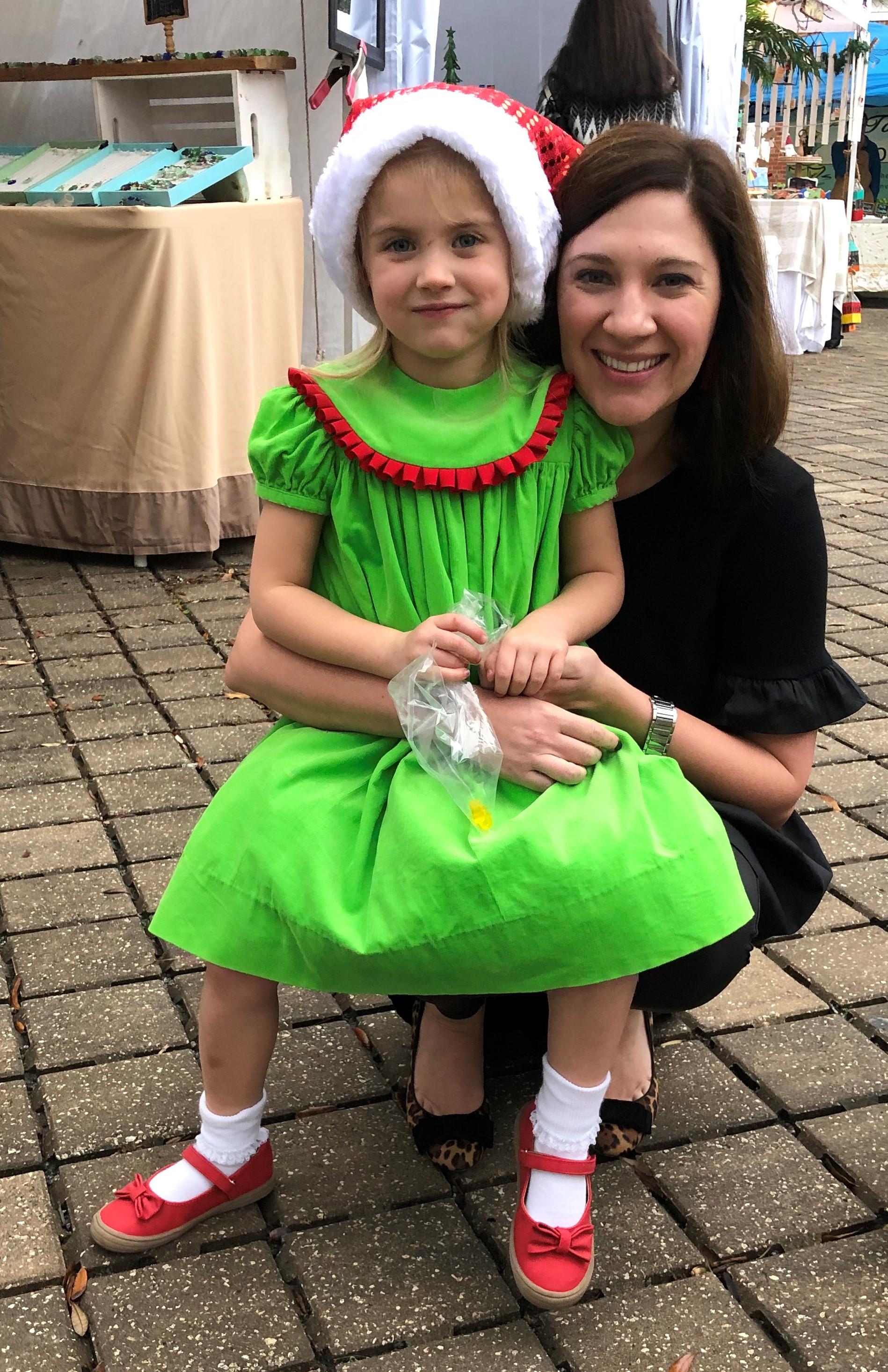 Girl in Green Dress w-Mom.jpg