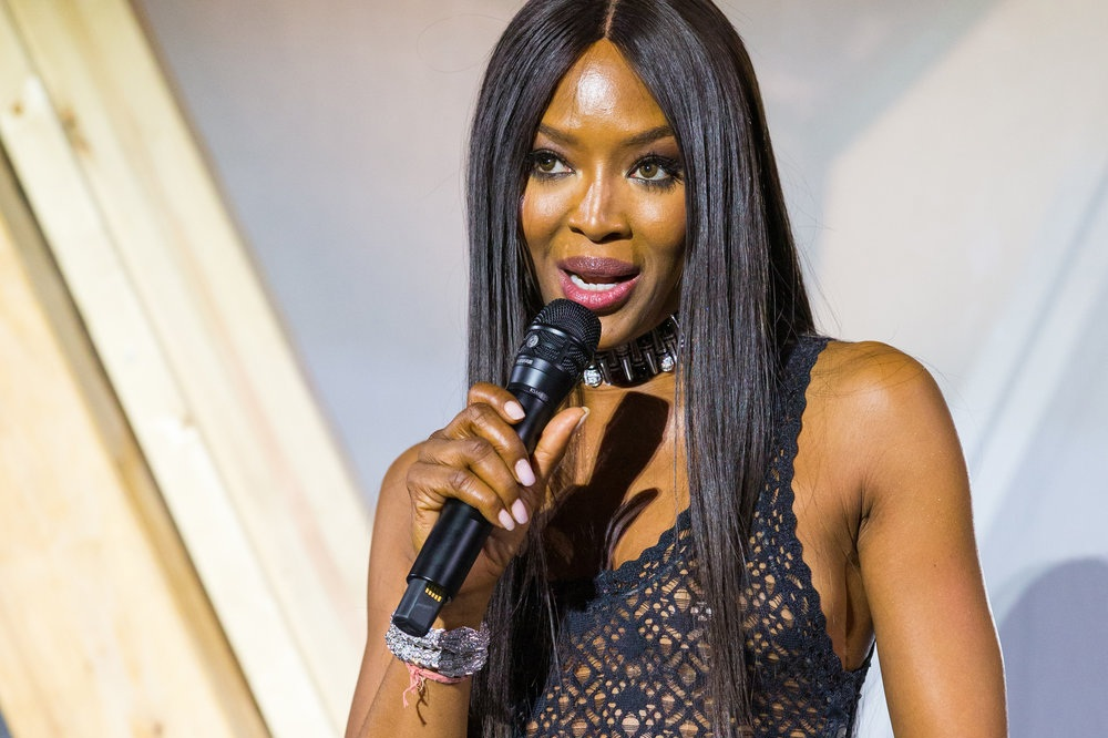 FIND OUT MORE - ABOUT NAOMI CAMPBELL