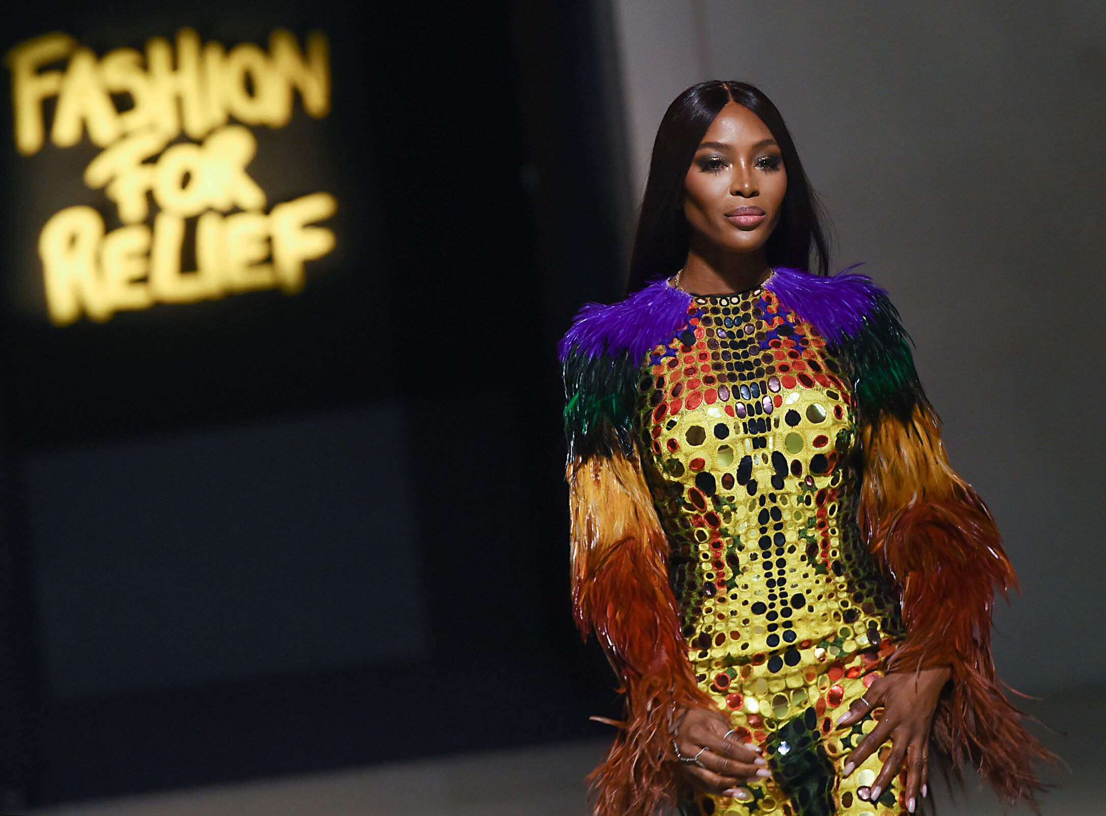 SPECIAL FEATURE - FASHION FOR RELIEF LONDON 2019AN EXCLUSIVE LOOK BEHIND THE SCENES