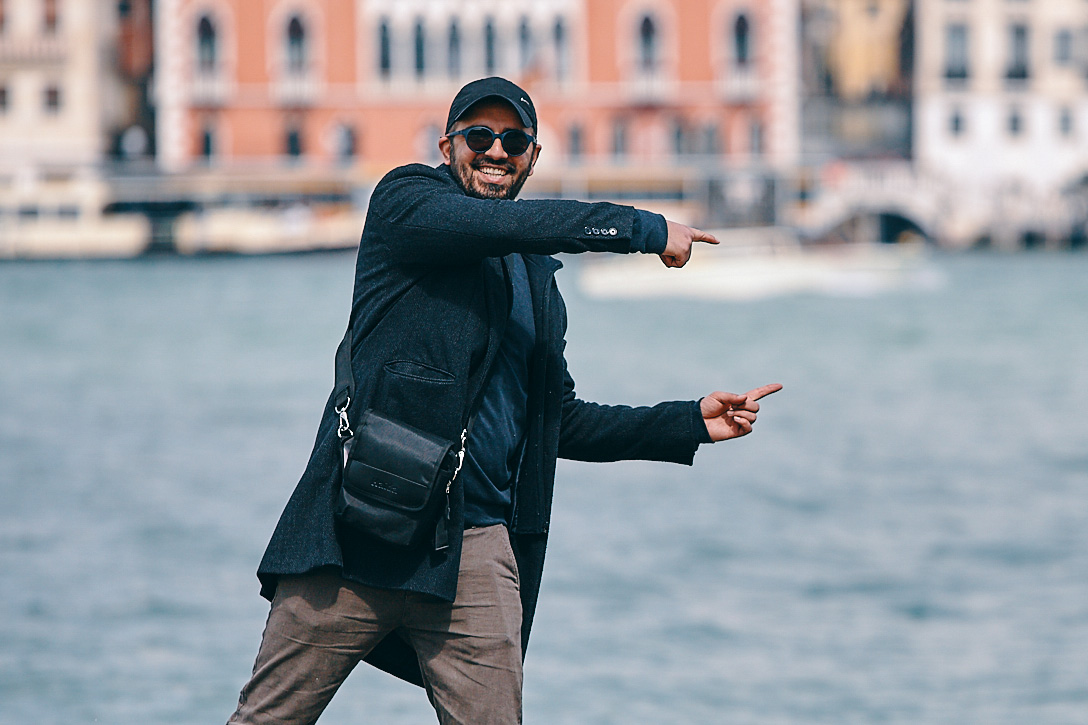 Guest instructor Mimo Meidany in his home town of Venice, Italy