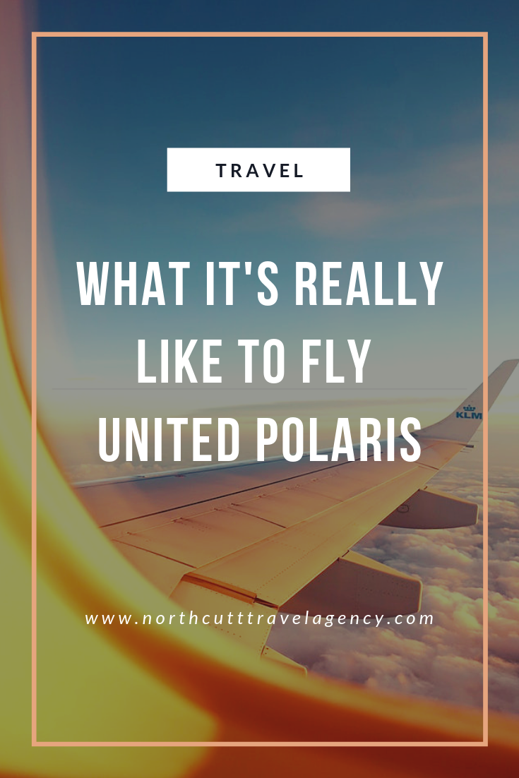 What It's Really Like to Fly United Polaris Northcutt Travel Agency Shayla Northcutt
